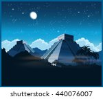 Vector Illustration Of Ancient...