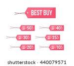 best buy   off labels | Shutterstock .eps vector #440079571