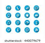 generic icon set | Shutterstock .eps vector #440079679