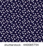cute pattern in small flower.... | Shutterstock .eps vector #440085754
