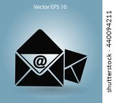 e mail vector icon | Shutterstock .eps vector #440094211