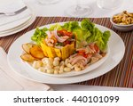 seafood ceviche  typical dish... | Shutterstock . vector #440101099