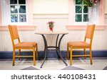 classic interior with two chair ... | Shutterstock . vector #440108431
