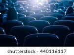 cinema or theater in the...
