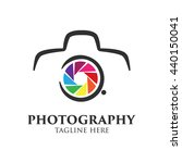 photography logo stock vector... | Shutterstock .eps vector #440150041