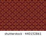 wall brick background | Shutterstock .eps vector #440152861