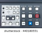 buttons of the tape... | Shutterstock . vector #440180551