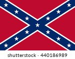vector image of confederate... | Shutterstock .eps vector #440186989
