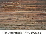 old dirty wooden wall | Shutterstock . vector #440192161