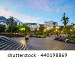 Plaza Grande In Old Town Quito...