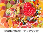 colorful candies  jelly and... | Shutterstock . vector #440199949
