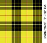 yellow tartan kilt fabric...   Shutterstock . vector #440204155