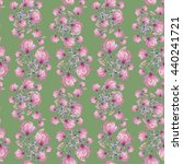 seamless floral pattern with... | Shutterstock . vector #440241721