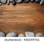 Spa Stones And Bamboo Sticks O...