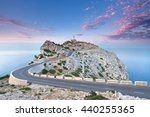 lighthouse at cap de formentor... | Shutterstock . vector #440255365