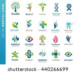 medical  healthcare and... | Shutterstock .eps vector #440266699