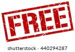 free stamp.stamp.sign.free. | Shutterstock .eps vector #440294287