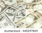 Japanese Yen And Usd Dollar...