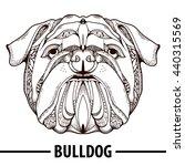 zentangle stylized cartoon of... | Shutterstock .eps vector #440315569