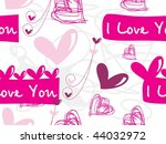 abstract romantic background ... | Shutterstock .eps vector #44032972