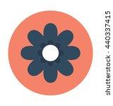 chickweed flower vector icon | Shutterstock .eps vector #440337415
