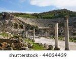 ancient ruine in  ephesus... | Shutterstock . vector #44034439