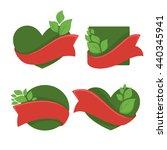 eco  bio  nature  vector... | Shutterstock .eps vector #440345941