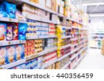 abstract blur supermarket store ... | Shutterstock . vector #440356459