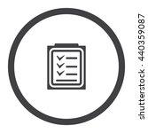 checklist icon jpg | Shutterstock .eps vector #440359087