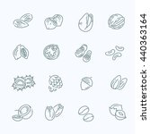 outline vector icons collection ... | Shutterstock .eps vector #440363164