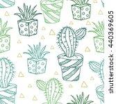 seamless pattern background.... | Shutterstock . vector #440369605