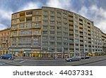 Urban housing in the center of Vienna / Nestroyplatz - stock photo