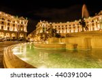 Night View Of Famous Fountain...