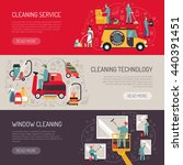 industrial facilities cleaning... | Shutterstock .eps vector #440391451