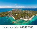 aerial view of beautiful bay in ... | Shutterstock . vector #440399605