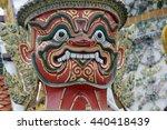 the temple of wat phra kaew in...   Shutterstock . vector #440418439