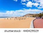 Agadir Main Beach In Agadir...