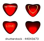 set of four different style... | Shutterstock . vector #44043673