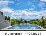 A Private Jacuzzi Overlooks Th...