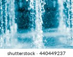 the gush of water of a fountain | Shutterstock . vector #440449237