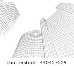 frame  architecture abstract ... | Shutterstock . vector #440457529