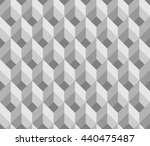 abstract geometric pattern... | Shutterstock .eps vector #440475487