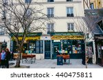 paris   february 24 2016 the... | Shutterstock . vector #440475811