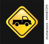 conveyance concept design  | Shutterstock .eps vector #440487295
