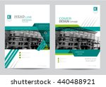 corporate brochure flyer design ... | Shutterstock .eps vector #440488921