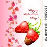happy valentine's day card...   Shutterstock .eps vector #44050036