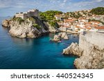 a view on the old town of... | Shutterstock . vector #440524345