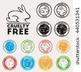 cruelty free sign icon. not... | Shutterstock .eps vector #440531341