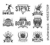 Bowling Vector Logotypes ...