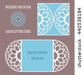 diy laser cutting vector... | Shutterstock .eps vector #440538184
